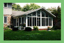 Three Season Sunroom, thermal sunroom